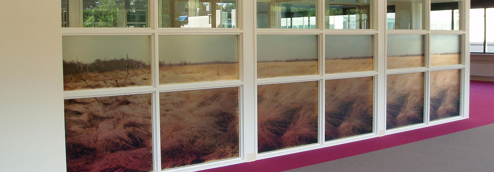 beedesign almere raamdecoraties indoor binnenreclame